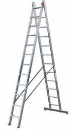 Универсальная лестница 2х11 krause corda 010223